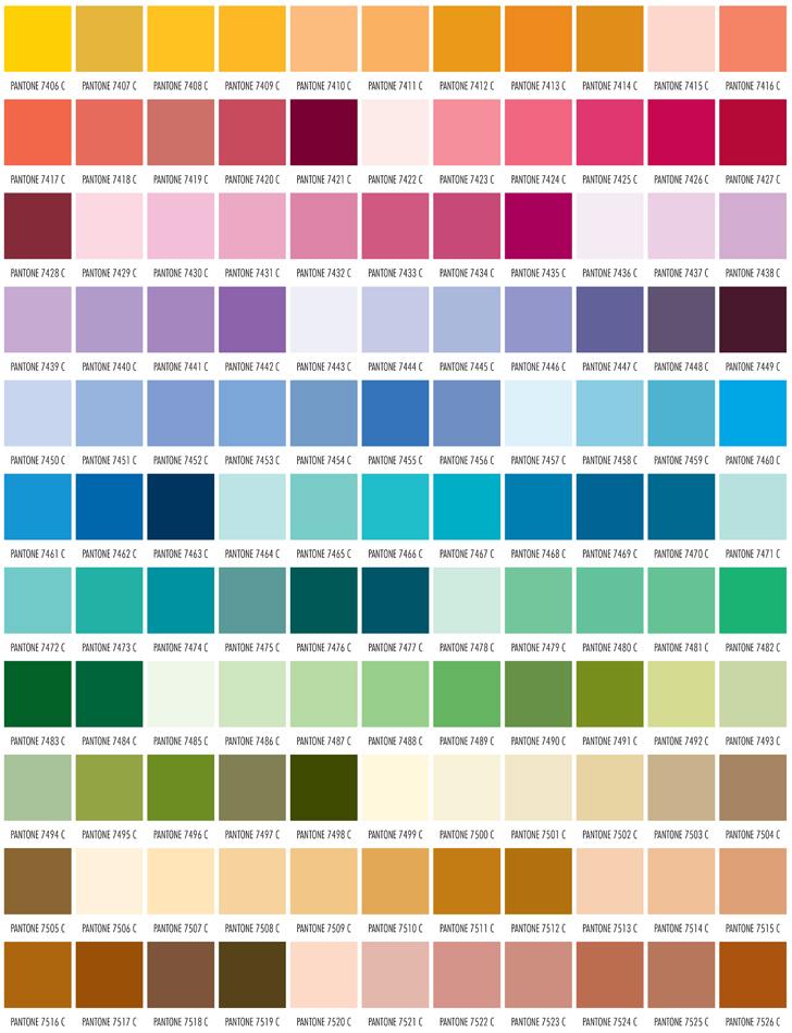 PMS Color Chart – Pms Color Chart